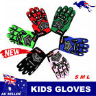 Kids Youth Gloves Motorbike Motocross MX ATV Quad Dirt Trail Pit Bike skating