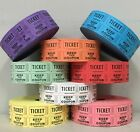 Внешний вид - Raffle Tickets Roll of 2000 50/50 Double Stub Split the Pot Fund Raiser Festival