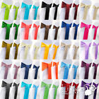 "20 pieces Wedding Party Banquet 6""x 108"" Satin Chair Cover Sash Bow COLORS"