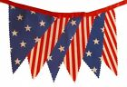 BUNTING American Style 'Stars and Stripes' - Red Satin Ribbon - 3m or 5m