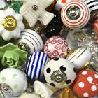 Pushka Knobs Bulk Job Lot Wholesale Cheap ceramic glass wood cupboard door knobs