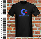 COMMODORE - T-SHIRT - All SIZES + COLOURS ( PC, 80s, Gamer, Gaming, retro, logo)