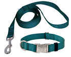 Premium Nylon Dog Collar and Leash Set (Various colors & sizes available!!)