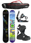 FLOW ELATION 145 Womens Snowboard+MUSE Bindings+Flow BOA Boots NEW Burton+BAG