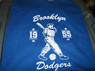 Brooklyn Dodgers 1955 World Series Tee Shirt  New FREE POSTAGE & CARDS