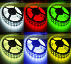 5M 300 LED Strip Light 5050 SMD IP65 Ribbon Tape Roll DIY Party Decorations New