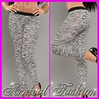 NEW SEXY animal print LEGGINGS HOT PANTS club DANCE PARTY CLUBBING WEAR hotpants
