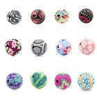 "Polymer New Clay Spacer Beads Flower   Ball 10mm( 3/8"") .M1165"