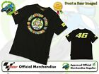 NEW OFFICIAL 2013 VALENTINO ROSSI VR/46 MENS BLACK THE DOCTOR T-SHIRT VR46
