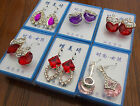 Various Clasp & Dangle Earrings - Clearance Wholesale!