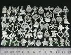Free Ship Wholesale Bulk Lots Tibetan Silver Mix Pendants Charms DY38