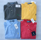 Polo Ralph Lauren Men Cotton Long Sleeve Polo Shirt Classic Fit S, M, L, XL New