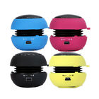 1/2/3 x Mini Portable Hamburger 3.5mm Speaker For iPod Laptop PC Tablet iPhone