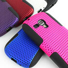 For Samsung Galaxy S 3 III S3 Mini i8190 i8200 APEX Hybrid Gel Hard Case Cover