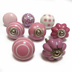 Pushka Knobs Sale Bulk Job Lot Pink Cheap Ceramic Glass Cupboard Door Knobs