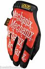 Mechanix Original(Authentic) Safety Glove ORANGE All Sizes NEW! FAST SHIP!!