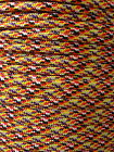 550 Multi Color Paracord Mil Spec Type III 7 strand Bracelet Lanyard 10-100 ft