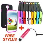 Ultra Thin Silicon TPU Layer Hybrid Case Cover For Samsung Galaxy S4 IV i9500