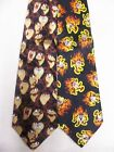 NEW LOONEY TUNES MENS NECK TIE 100% SILK TAZ $20 RETAIL