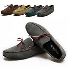 5 colors Mens Comfy Suede Casual Slip On Loafer Shoes Moccasins Driving Shoes