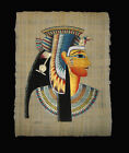 Egyptian Papyrus genuine hand painted Cleopatra