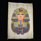 Egyptian Papyrus genuine hand painted King Tutankhamun in Various Designs