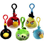 Angry Birds Plush Backpack Clips Official Brand New Soft Toy Collection Set