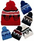 Childrens Winter Ski Bobble Beanie Hat Mickey Mouse Boys Girls Fit Up to 4 yrs