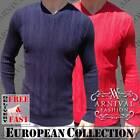 NEW MENS ribbed JUMPERS MEN KNITWEAR CASUAL MENSWEAR MAN FASHION men's SWEATERs