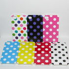 iPhone 4 & 4S Polka Dot Cath Style Spotty Case Cover Vintage Shabby Chic Xmas
