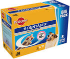 56 STICKS PEDIGREE DENTASTIX SMALL MEDIUM AND LARGE DOG OPTIONS DOG TREATS