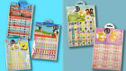Kids 960 Character Mini Stickers Pack for Reward Chart Cool Cards Party Bags