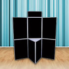Premium Exhibition Display Stand - 7 Panel Portable Folding Show Board kit