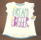 Healthtex Girl's Shirt ~ Size 3T & 4T Glittery Letters, Bright Colors! ~ NWT