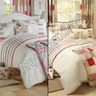 PETTICOAT PATCHWORK BEDSPREAD QUILT DUVET COVER BEDDING SET WITH PILLOW CASE NEW