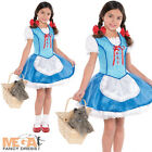 Dorothy Book Character Fancy Dress Girls Wizard of Oz Childrens Costume 4-14 Y