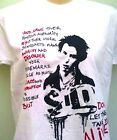 LONG SLEEVE SID VICIOUS SEX PISTOLS DON'T LET THEM TAKE YOU ALIVE  T SHIRT
