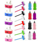 MAINS PLUG CAR+USB DATA CABLE LEAD CHARGER FOR iPhone 3GS 4 IPAD 2 3 iPod Touch
