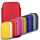 SAMSUNG GALAXY ACE S5830 PULL TAB POUCH CASE PU LEATHER COVER SOCK SLIM SOFT