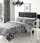 "ZEBRA PRINTED CURTAINS SET WITH TIE BACKS - 66""x"" 72 -  LAST FEW"