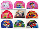 Hot Sell New Cute Children Kids Cartoon Swimming Caps For Boys and Girls