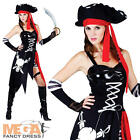 Buccaneer Beauty Pirate + Hat Ladies Fancy Dress Book Week Womens Costume Outfit