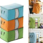 New Foldable Home Basics Fabric Storage Box Case Handle STGG