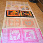 Great Assorted Pillow Panels/Quilt Square Precious Moments, Cat ECT.PRINT CHOICE