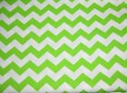"Chevron Fabric 1/2"" uPick blue pink green purple yellow orange  1 FQ 22X18 j"
