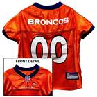 Denver Broncos NFL Licensed Dog Jersey - New with Tags - XS to XL - In Stock
