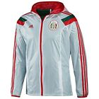 ADIDAS MEXICO WOVEN ANTHEM TRACK JACKET FIFA WORLD CUP BRAZIL 2014 WHITE.