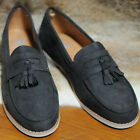 Men's shoes Casual dress GREY tassel loafer Sneakers slip on Trainers UK SZ
