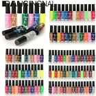 12/36/48pc Glitter Vernis A Ongles Gel UV Pinceau Liner Stylo Nail Art Tips