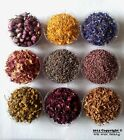 Various Dried Flowers - confetti, potpourri, crafts, soap making, candle making